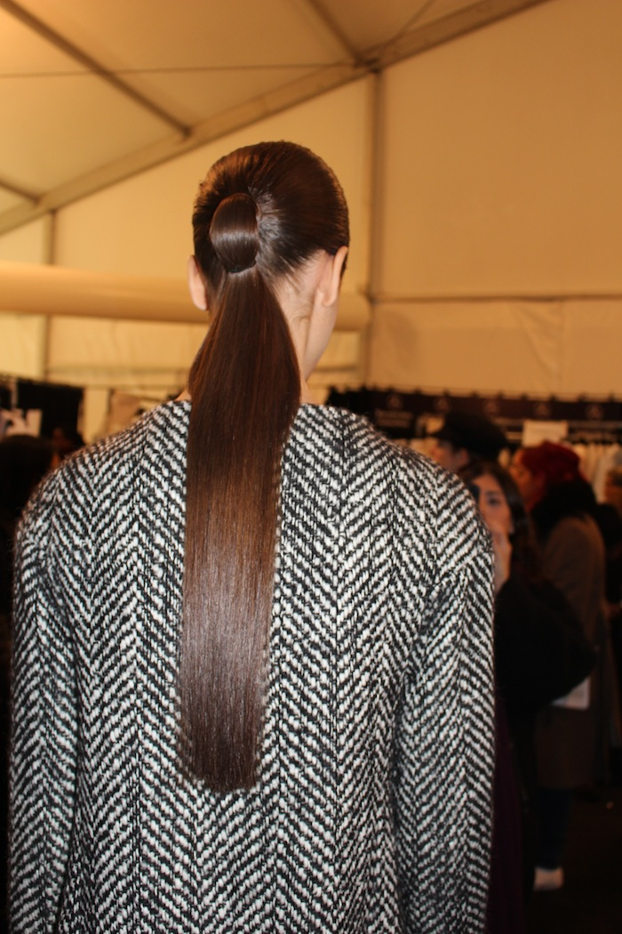 Backstage with the Models of Kaufman Franco during NYFW Lincoln Center