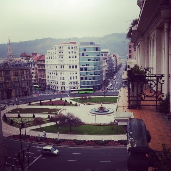 Bilbao Spain Gran Via Travel Photography of a Fashion Blogger