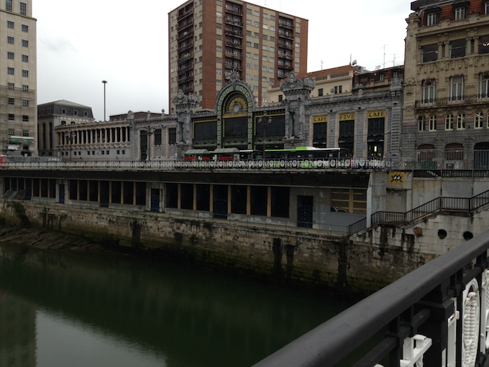 Central Train Station Bilbao Spain Photography