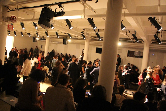 Crowd Right Before Sophie Theallet Fashion Show Begins NYFW