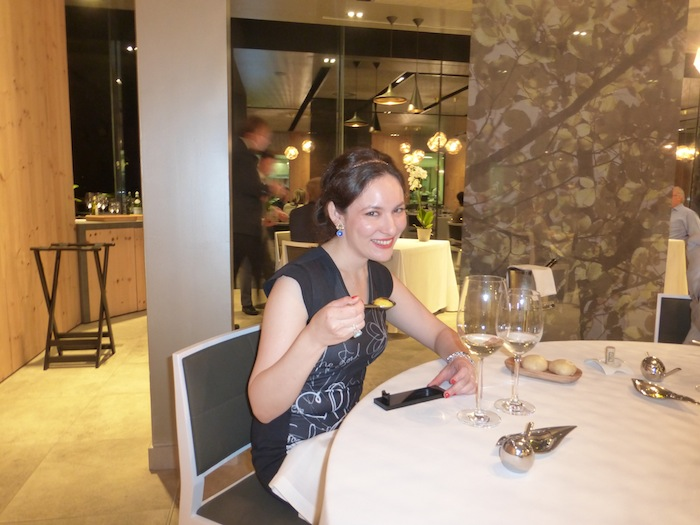 Eating at Azurmendi Bilbao Spain Michelin Restaurant