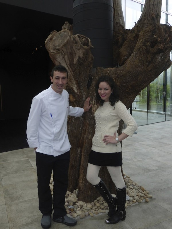 Eneko Atxa Michelin Star Chef Azurmendi Bilbao Spain A Fashionable Dining Experience