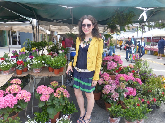 Farmers Market Means Beautiful Fashionable Flowers in Time For Spring Trending