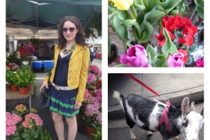 Bright at The Farmers Market as Spring Style Trends Bloom Forward