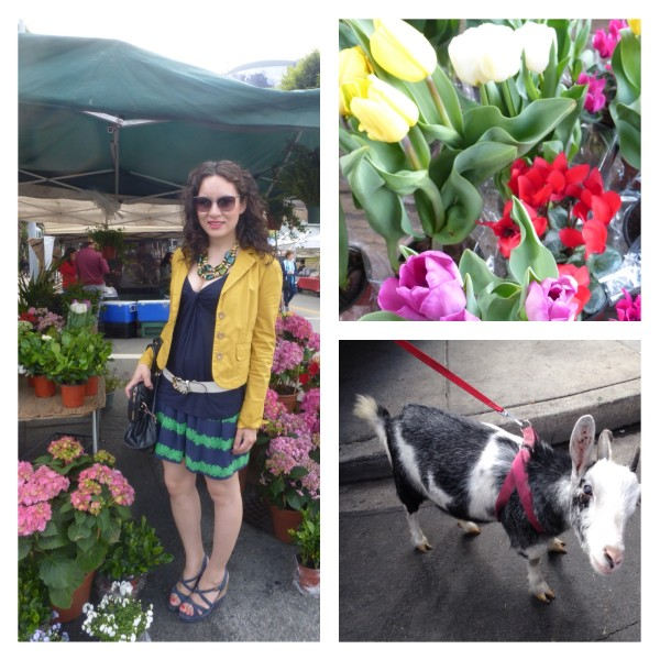 Farmers Market Spring Fashion in Bloom