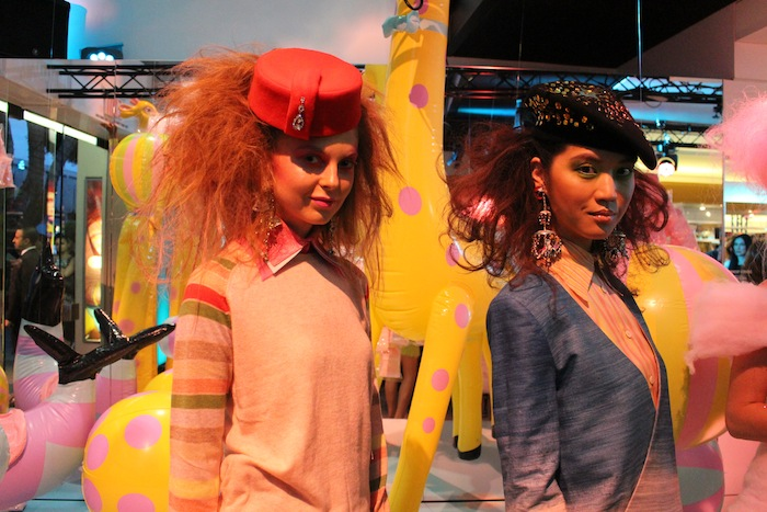 Mac Playland event on Robertson Blvd Celebrate bright colors, big hair, and beautiful makeup tips for spring