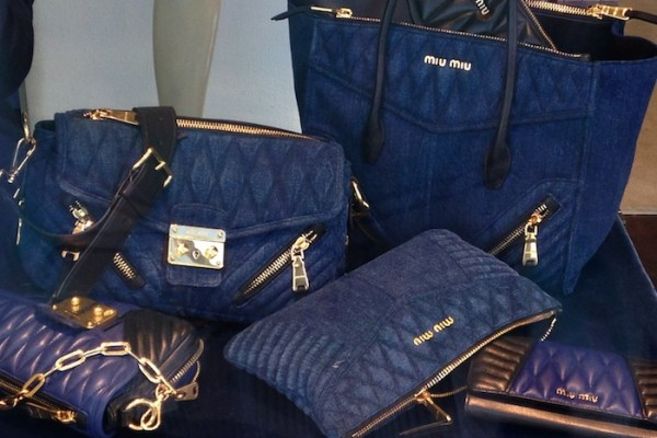 Miu Miu Hot Denim Bag Trends this season