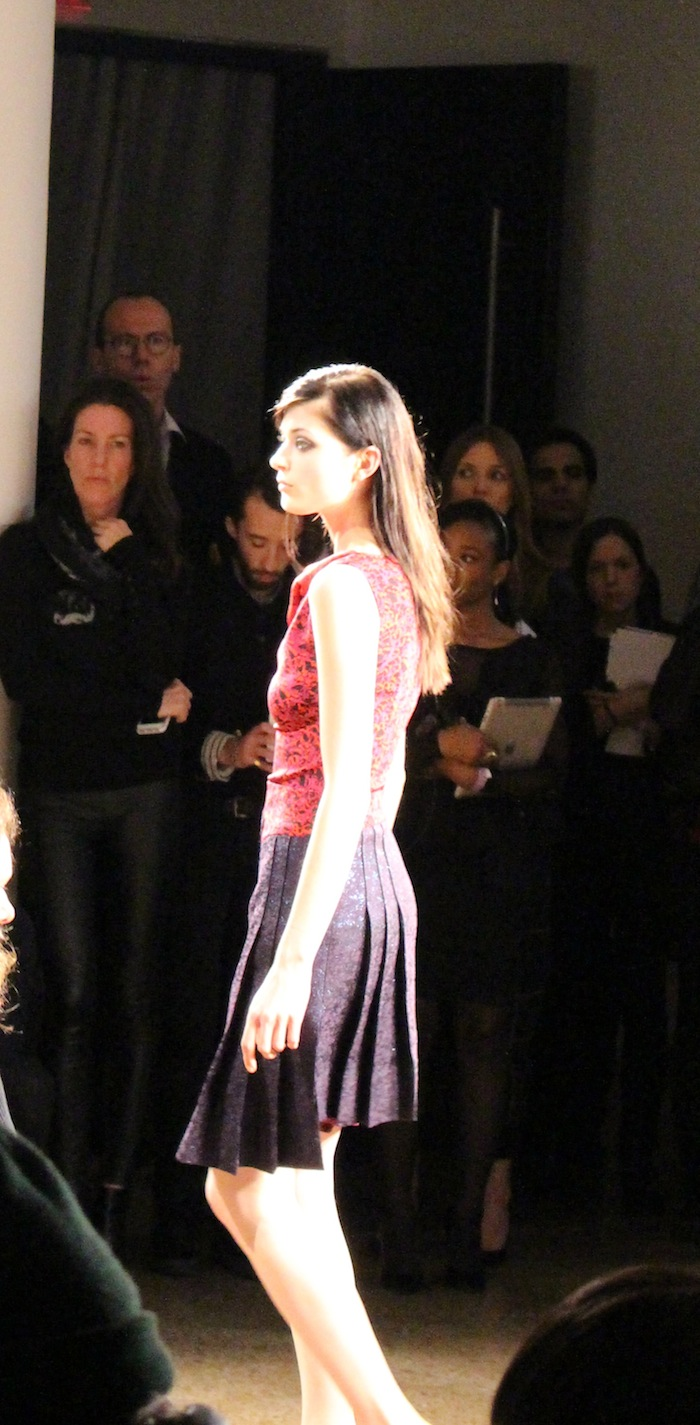 New York Fashion Week Sophie Theallet Looks fashion show pleated skirt