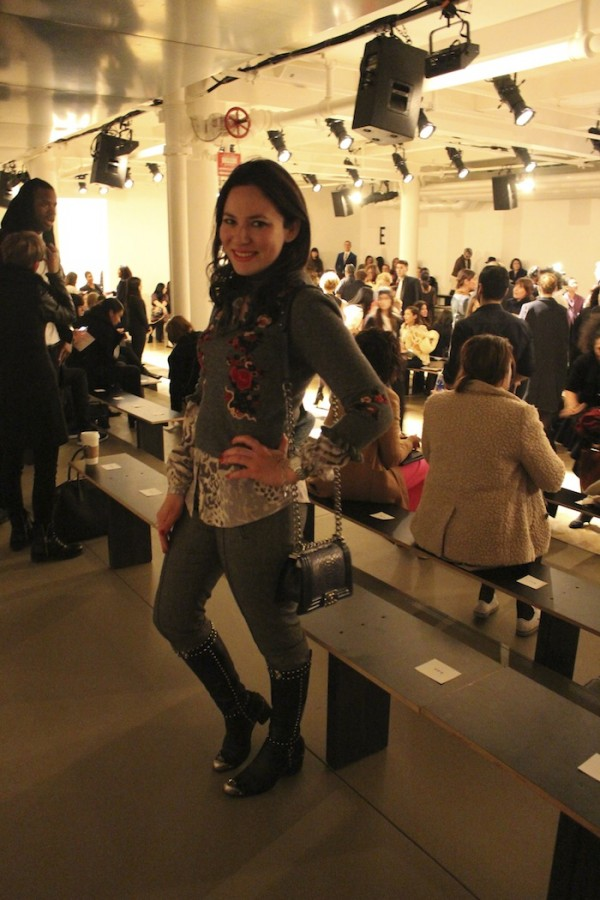 Right Before Sophie Theallet Fashion Show NYFW