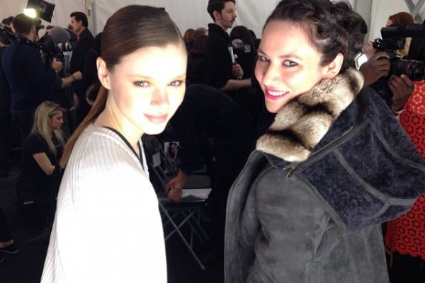 The Braid Hair Trends Style NYFW Backstage at Vivienne Tam
