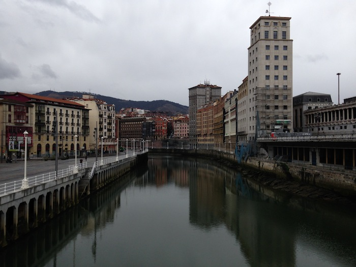 The River Bilbao Spain Photography