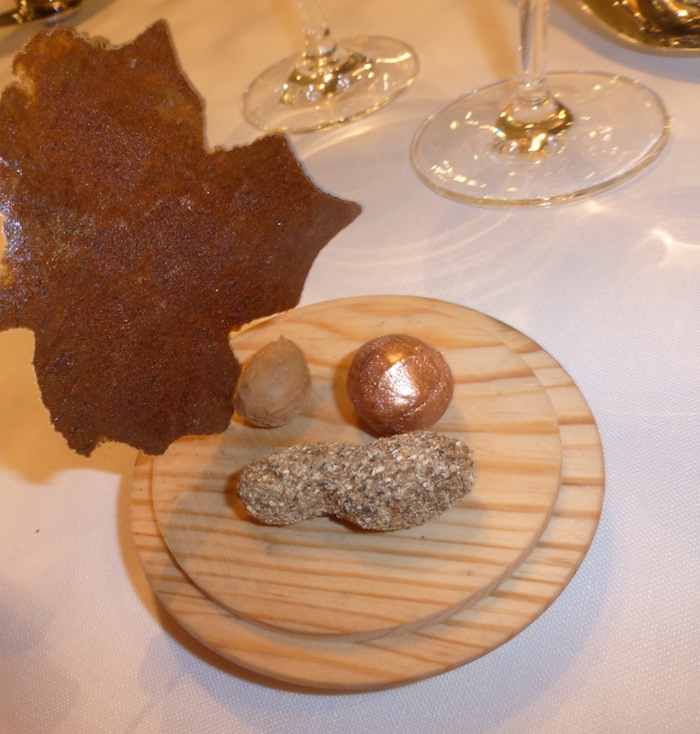 Azurmendi three star michelin restaurant in Bilbao Spain