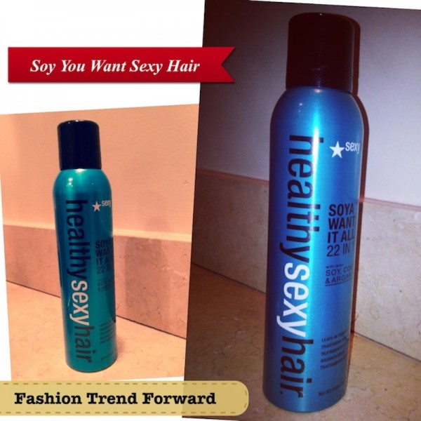 Soya Healthy Sexy Hair Want it all 22 in 1 with soy cooa and argon oil