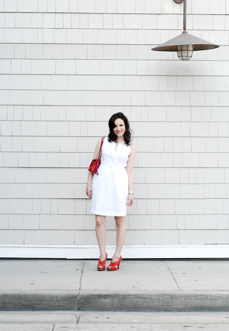 White on White Hot Summer Trends with Charlotte Ronson and Red Valentino