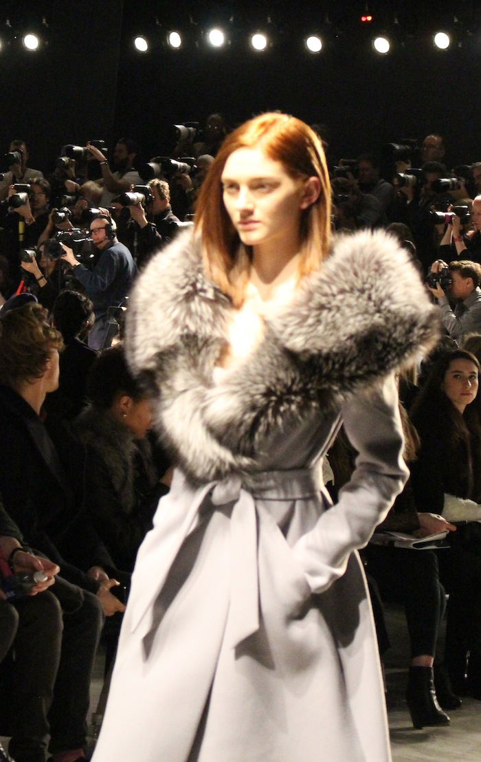 Adeam Fur Fashion Week Style for Winter 2014