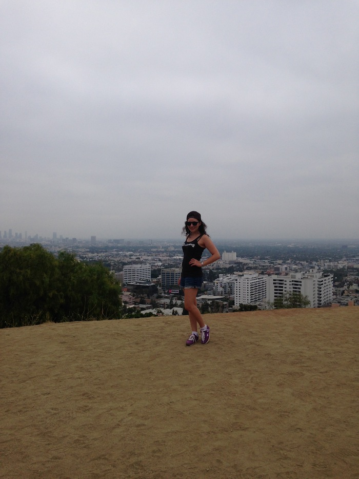 Hiking Fashion Up Runyon Canyon Los Angeles