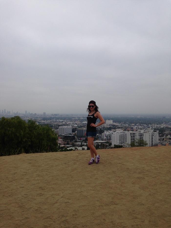 Hiking Fashion Up Runyon Canyon Los Angeles