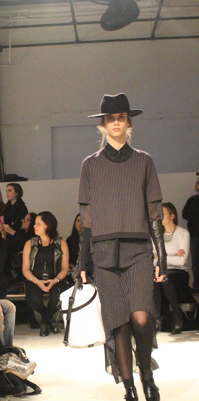 Kenneth Cole Layering New York Fashion Week Winter Collection 2014 2015