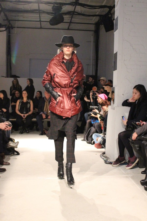 Kenneth Cole New York Fashion Week Fall Winter 2014 Urban Gypsy Layering for warmth winter trends