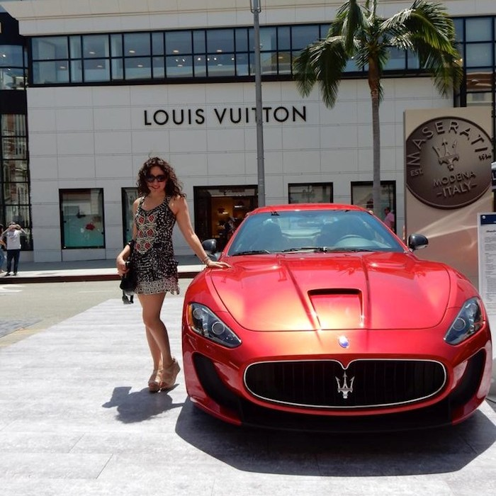 Louis Vuitton Beverly Hills Car Show