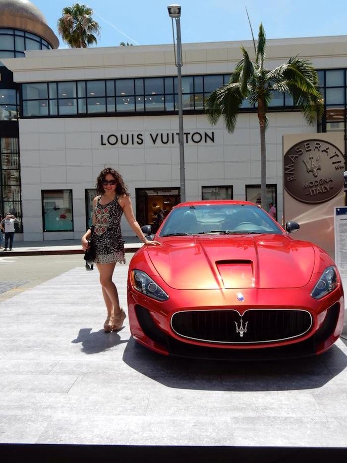 Louis Vuitton Beverly Hills Car Show