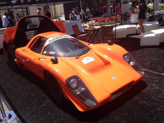 Orange Fancy Car Beverly Hills Car Show