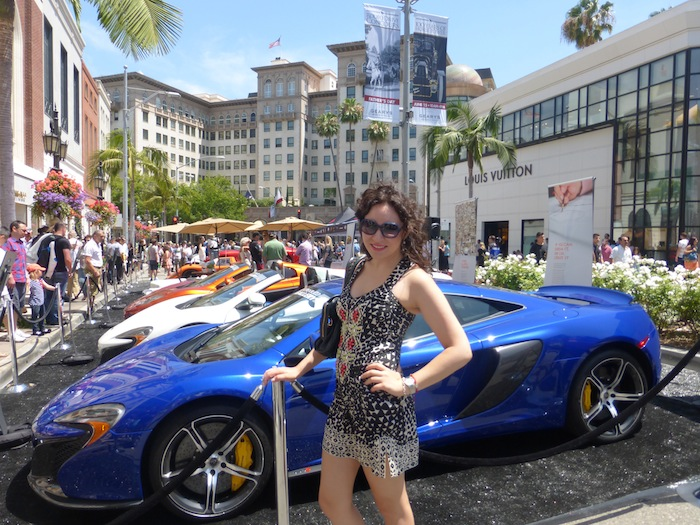Rodeo Dr Concours DElegance Beverly Hills Car Show Fashion - Beverly hills car show