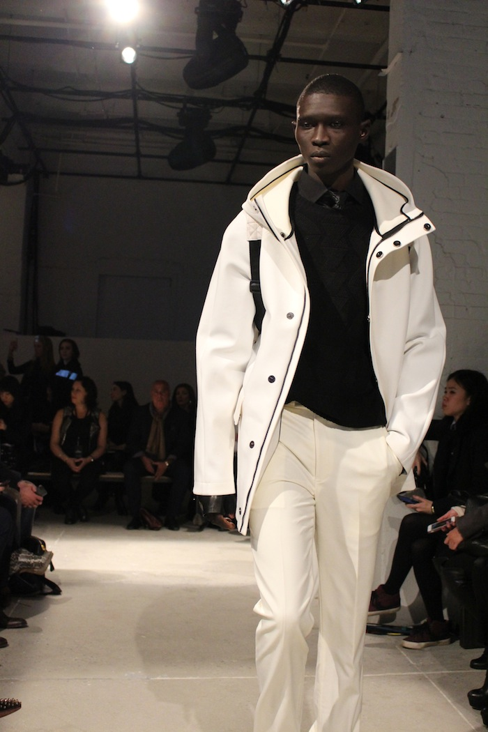 White at Kenneth Cole New York Fashion Week Urban Gypsy