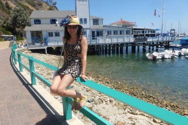Island Style Catalina Island Birthday Sun Sand Beach blogger