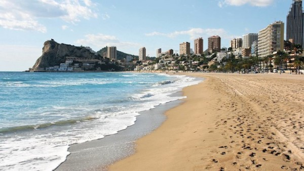 Beaches of Spain Traveling through the Costa Blanca