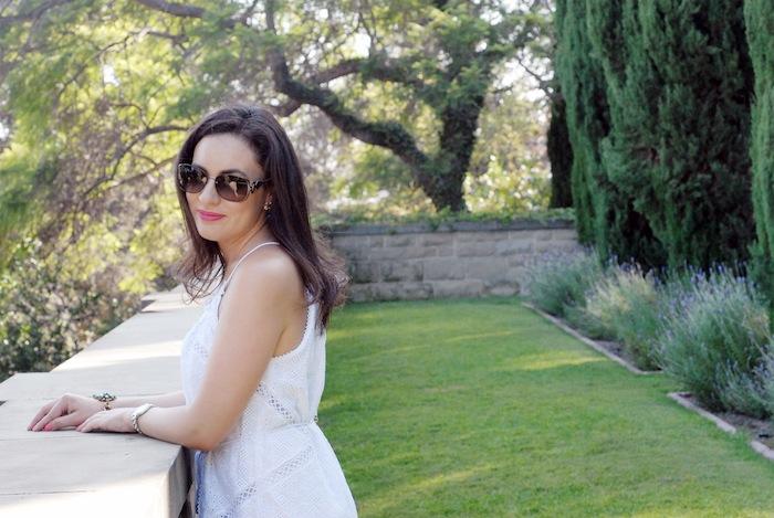 Pucci Sunglasses White Zimmermann Jumpsuit Fashion Blogger
