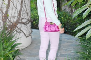 Ferragamo and Darling Pastels at the Peninsula Beverly Hills