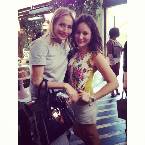 Lubov Azria Fashion Breakfast at Cicconis