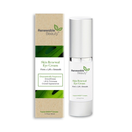 Renewable Beauty Eye Cream Giveaway Natural Beauty