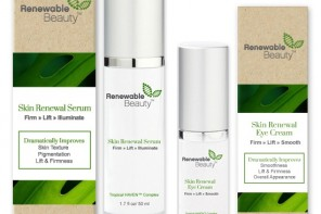 Pre New York Fashion Week Renewable Beauty Eye Cream Giveaway