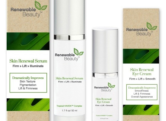 Renewable Beauty Eye Cream all Natural Eye Cream