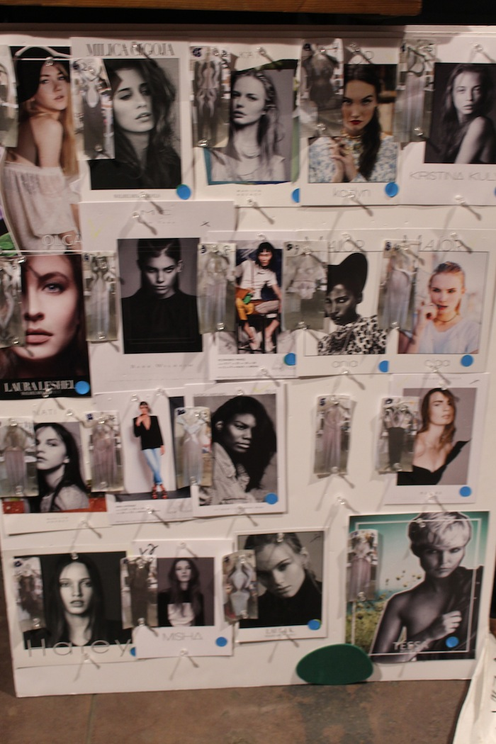 Alon LIvne NYFW Models SS2015 Collection September 2014 Fashion Week Backstage access