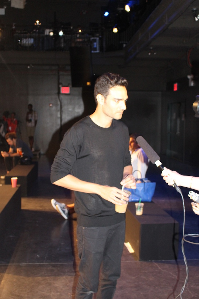 Backstage New York Fashion Week with Alon Livne