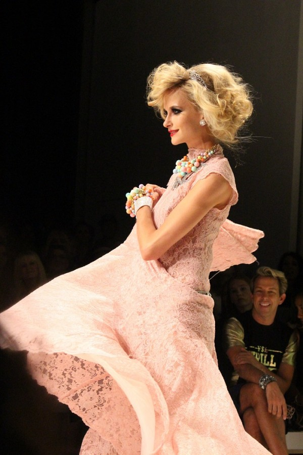 Betsey Johnson Bridal NYFW Spring 2015