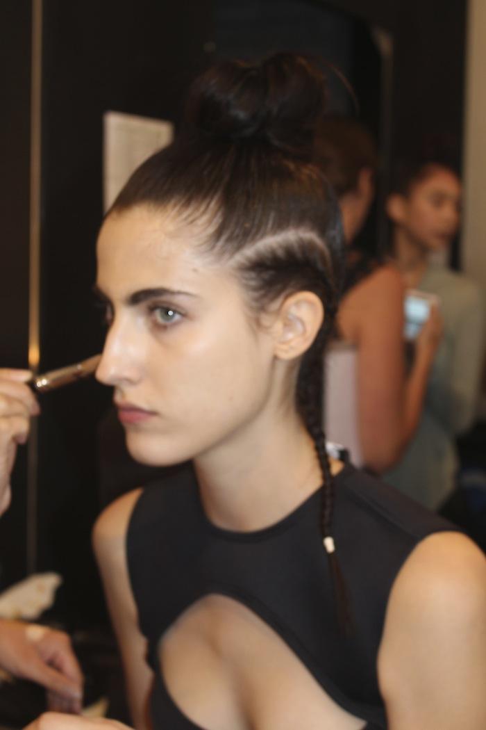 Chromat MAC Makeup Backstage Fashion Week NY