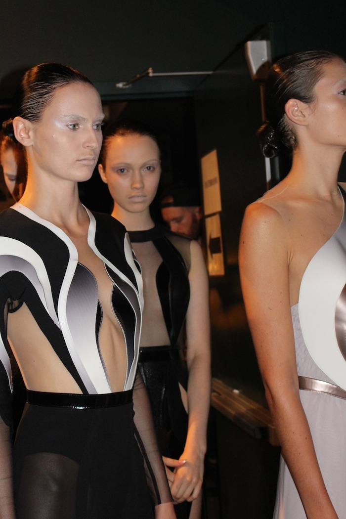 Couture Ice Queens at Alon Livne New York Fashion Week Presentation at The Hudson Hotel