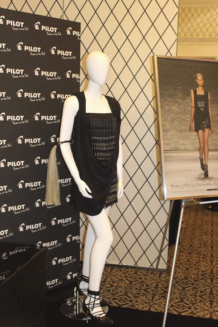 GBK Pilot Pen Celebrity Gifting Lounge Nicholas K Dress best fashion blogger