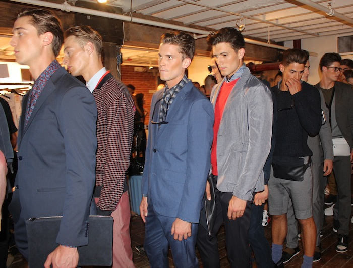 Gorgeous Male Models Fashion Week Perry Ellis New York Fashion Week September 2014