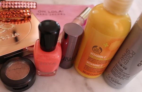Inside My Fashion Week Beauty Bag MAC Stila Joico Zoya Nails