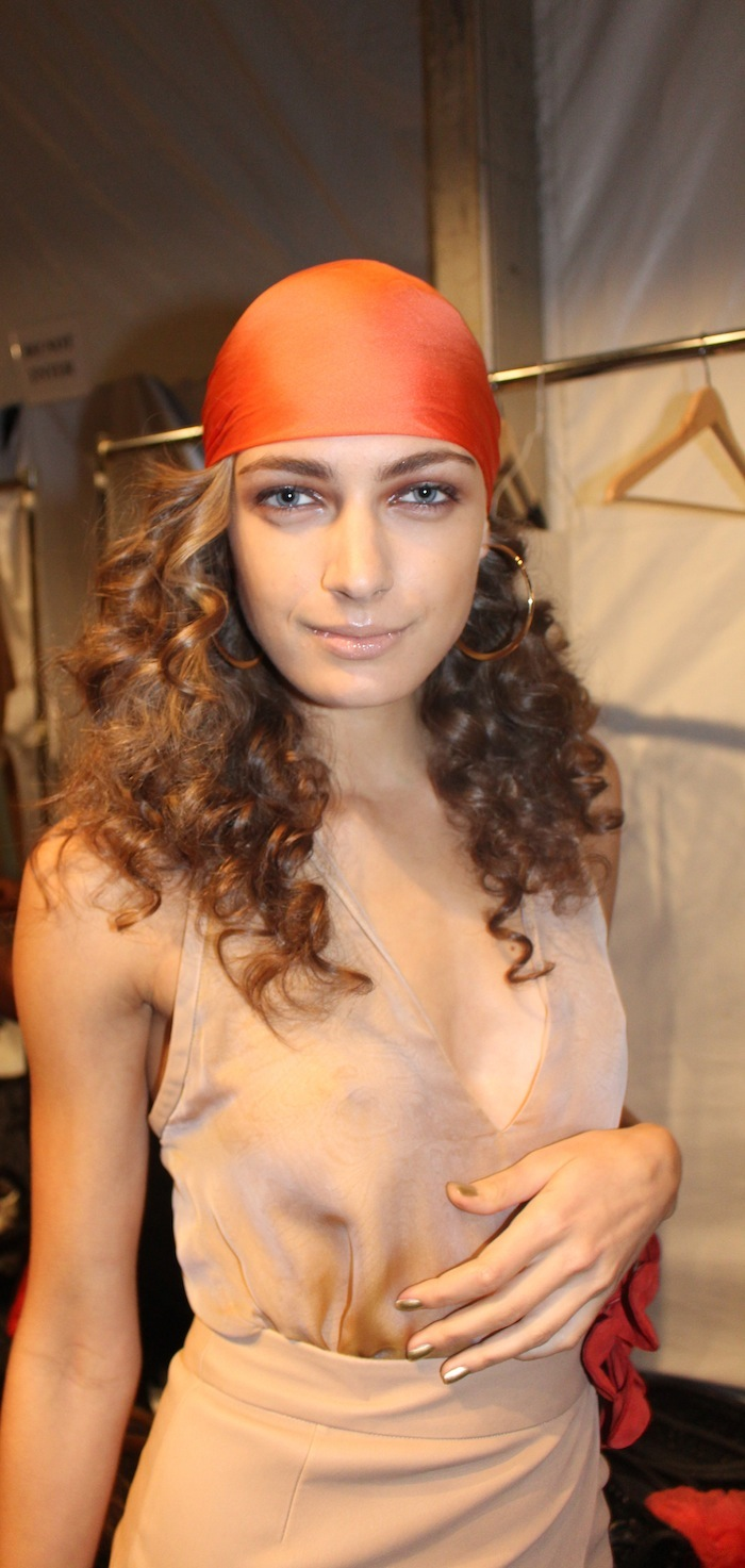 Natural Makeup New York Fashion Week Trends Backstage Georgine Lincoln Center