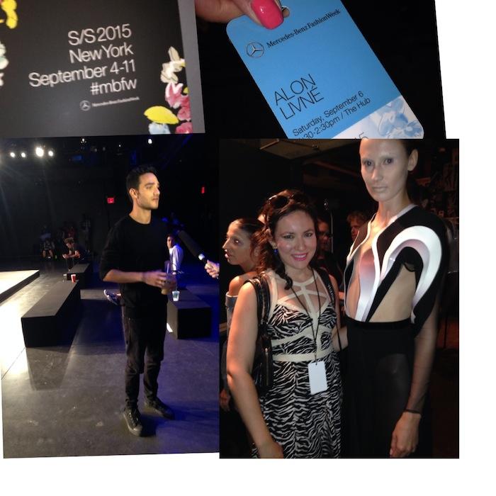New York Fashion Week with Alon Livne SS2015 September 2014 Fashion Week