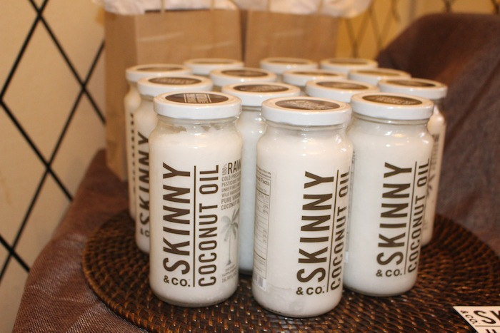 Skinny & CO Coconut oil GBK New York Fashion Week Style Lounge