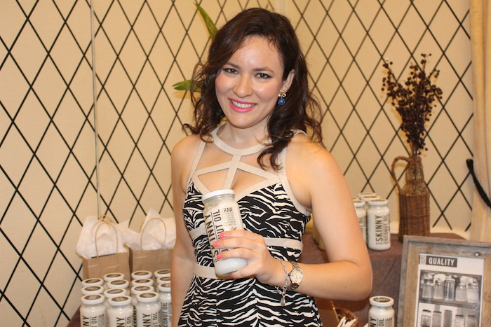 Skinny & Co coconut Oil GBK Celebrity Gifting Lounge NYFW September 2014