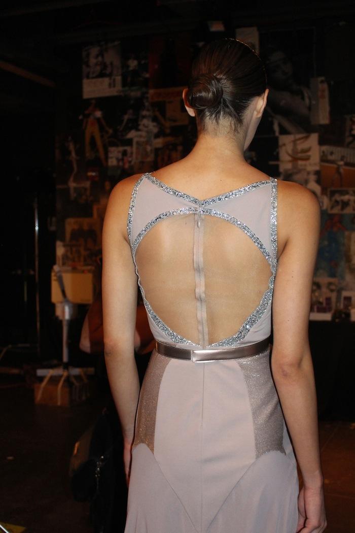 Sparkly Evening Gowns Alon Livne Fashion Week September 2014