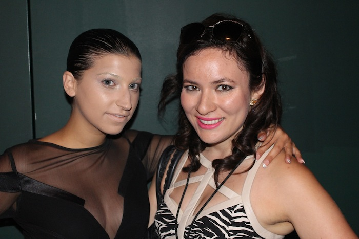 With Lead Singer Ariana and the Rose at Alon Livne New York Fashion Week Show